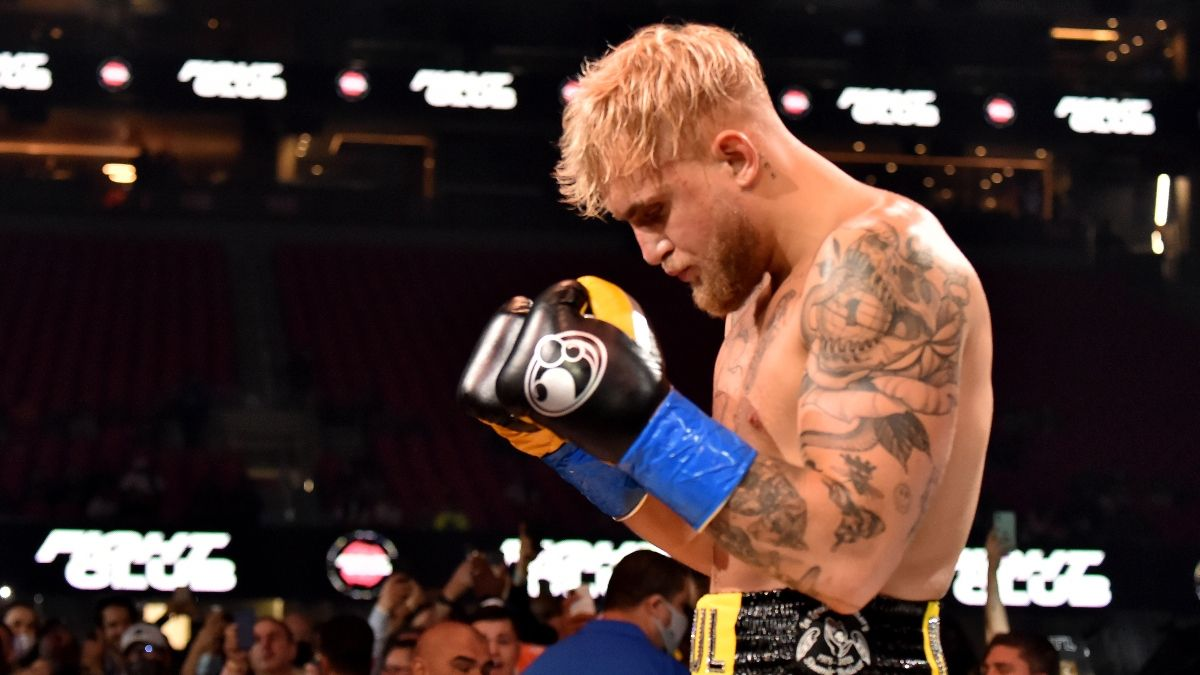 Enter the DraftKings Free-to-Play Jake Paul vs. Tyron Woodley $1,000 Prize Pool! article feature image