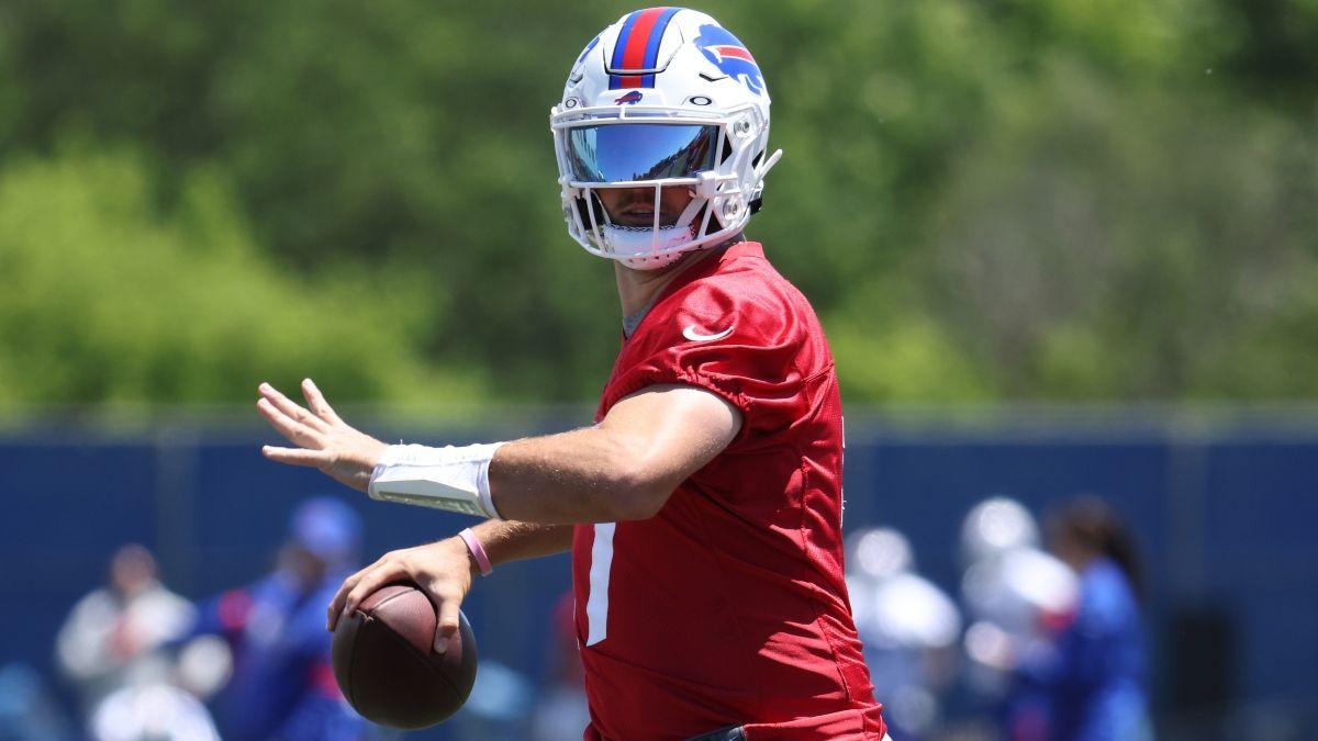 Josh Allen's Status Moving Friday's Bills vs. Lions NFL Preseason Week 1 Spread article feature image