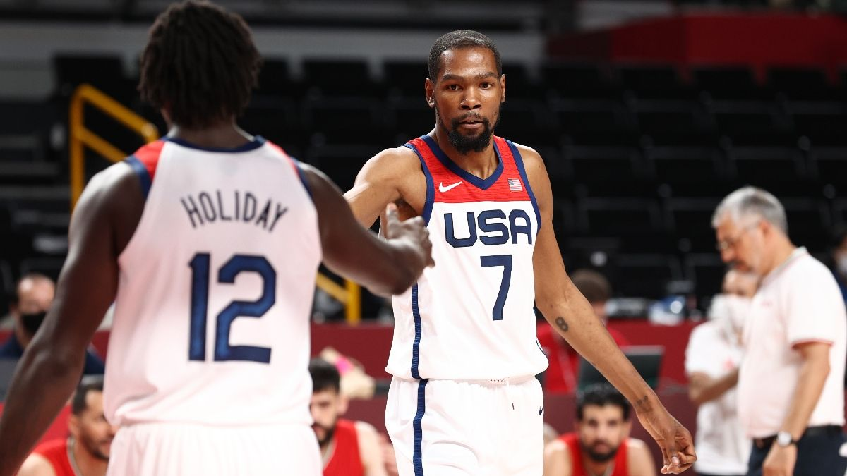 USA vs. France Olympics Odds, Preview, Prediction: How to Bet Men's Basketball Gold-Medal Game (Aug. 6) article feature image