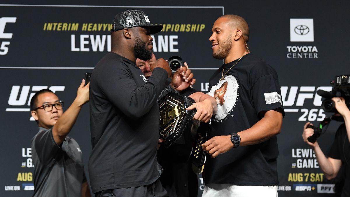 UFC 265 Odds, Promo: Bet $20 on Derrick Lewis vs. Ciryl Gane, Get $100 Free! article feature image