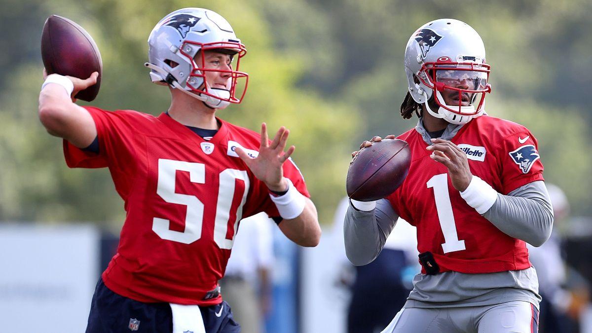 Washington vs. Patriots NFL Preseason Odds & Picks: How Sharps Are Moving Thursday Night's Line article feature image