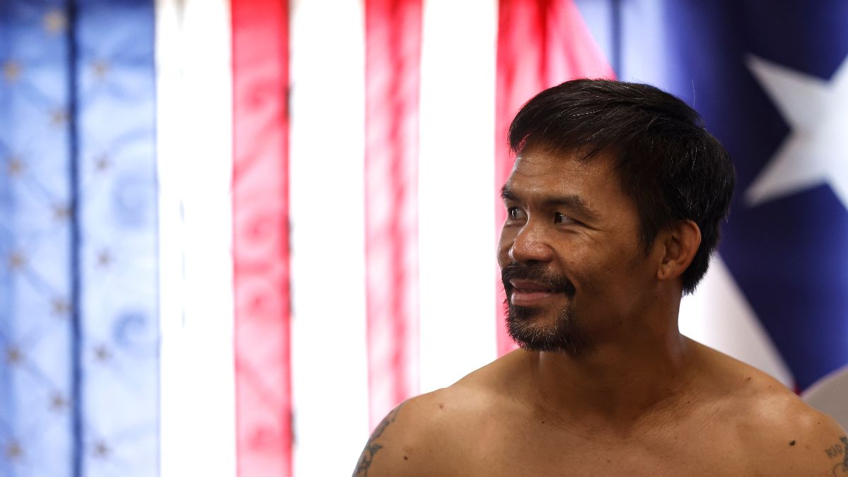 Boxing Odds, Picks, Predictions: Manny Pacquiao vs. Yordenis Ugas Betting Preview (Aug. 21) article feature image