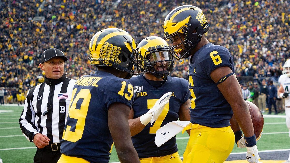 Michigan vs. Western Michigan Odds, Promo: Bet $10, Win $200 if Michigan Scores a Touchdown! article feature image