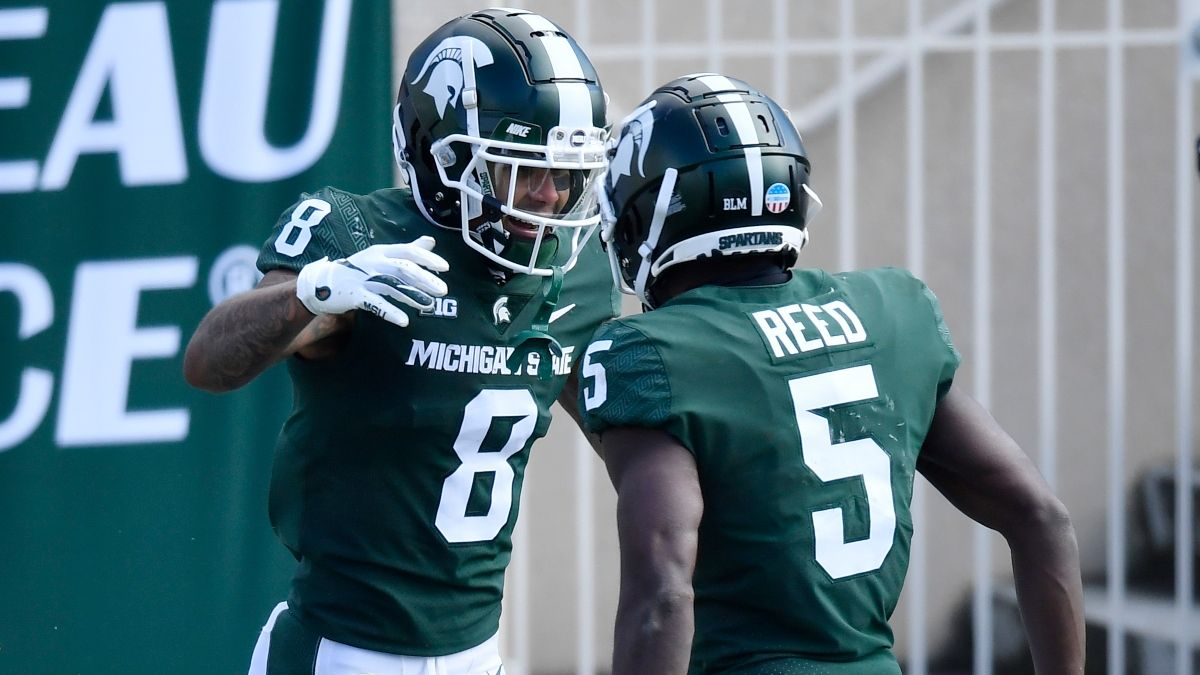 Michigan State vs. Northwestern Odds, Promo: Bet $20, Win $200 if Michigan State Scores a Touchdown! article feature image