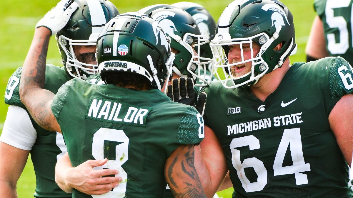 Michigan State vs. Northwestern Odds, Promo: Bet $10, Win $200 if Michigan State Scores a Touchdown! article feature image
