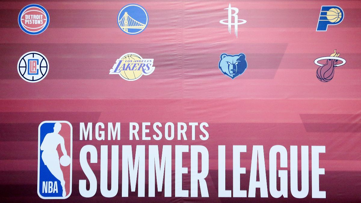 NBA Summer League Odds: Spreads, Totals, TV Channel for Every Game on Day 1 article feature image