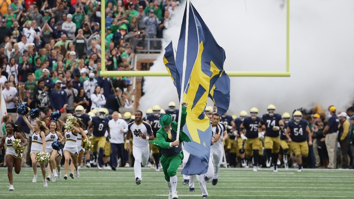 Notre Dame vs. Florida State Odds, Promo: Bet $10, Win $200 if the Irish Score a Touchdown! article feature image