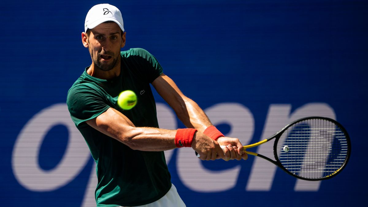 2021 US Open Men's Odds & Draw: Novak Djokovic the Odds-On Favorite article feature image