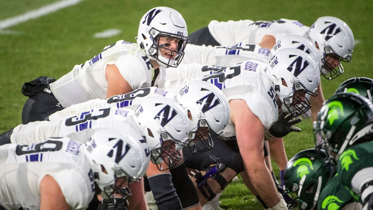 Michigan State vs. Northwestern Odds, Promo: Bet $20, Win $200 if Your Team Scores a Touchdown! article feature image