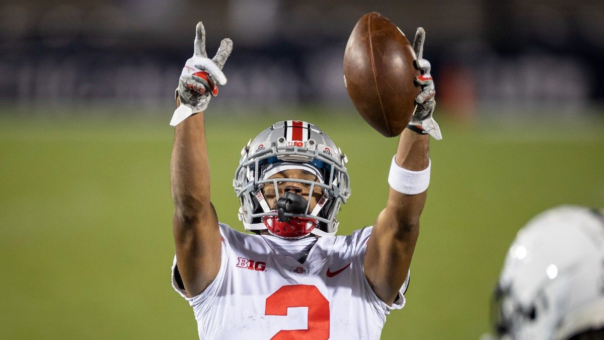 2021 Big Ten Conference Betting Preview: Win Totals, Futures Odds & Predictions for Ohio State, Wisconsin, More article feature image