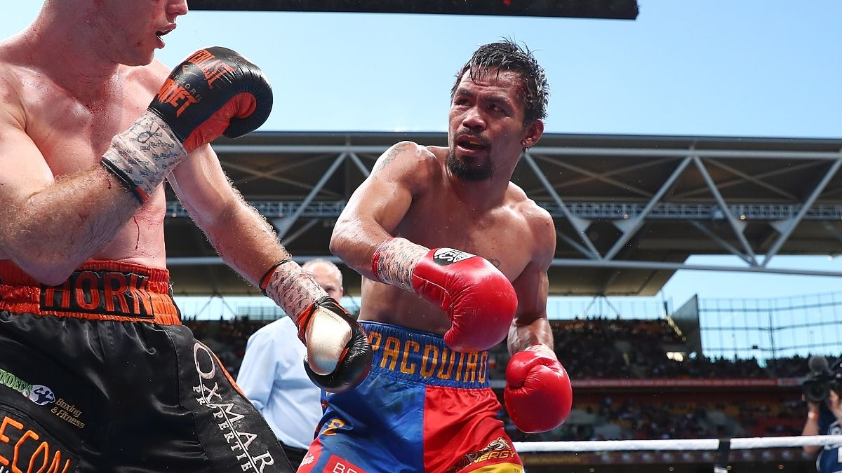 Boxing Odds, Promo: Bet $20, Win $200 if Manny Pacquiao Throws a Punch! article feature image