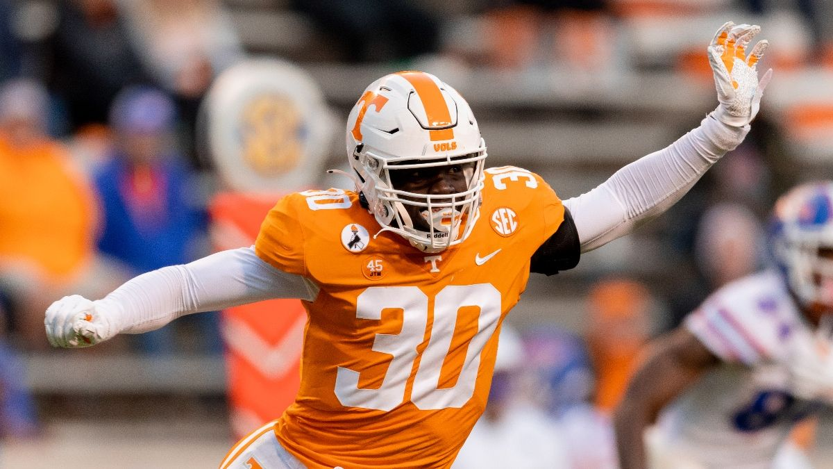 Tennessee vs. Bowling Green Odds, Promo: Bet the Vols Risk-Free Up to $5,000! article feature image