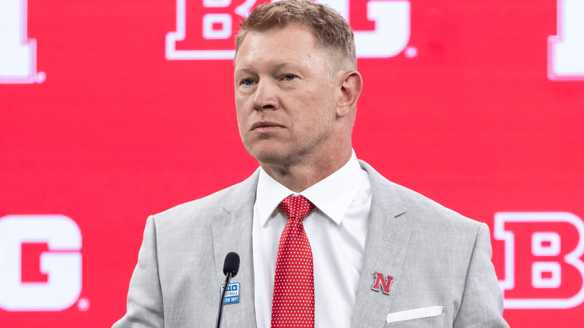 How to Bet Nebraska vs. Illinois Week 0 Odds, Win Total After Scott Frost Investigation article feature image