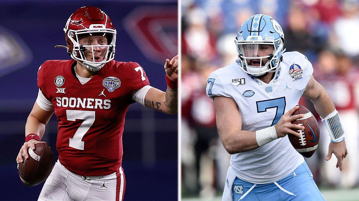 2022 NFL Draft Odds: Spencer Rattler, Sam Howell Favorites To Go No. 1 article feature image