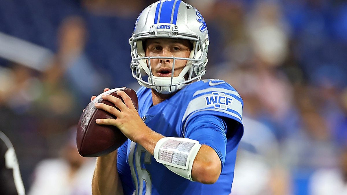 Lions vs. Steelers Odds, Promo: Bet the Lions Risk-Free Up to $5,000! article feature image