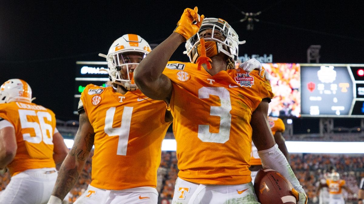 Tennessee vs. Florida Odds, Promo: Bet the Vols Risk-Free Up to $5,000! article feature image