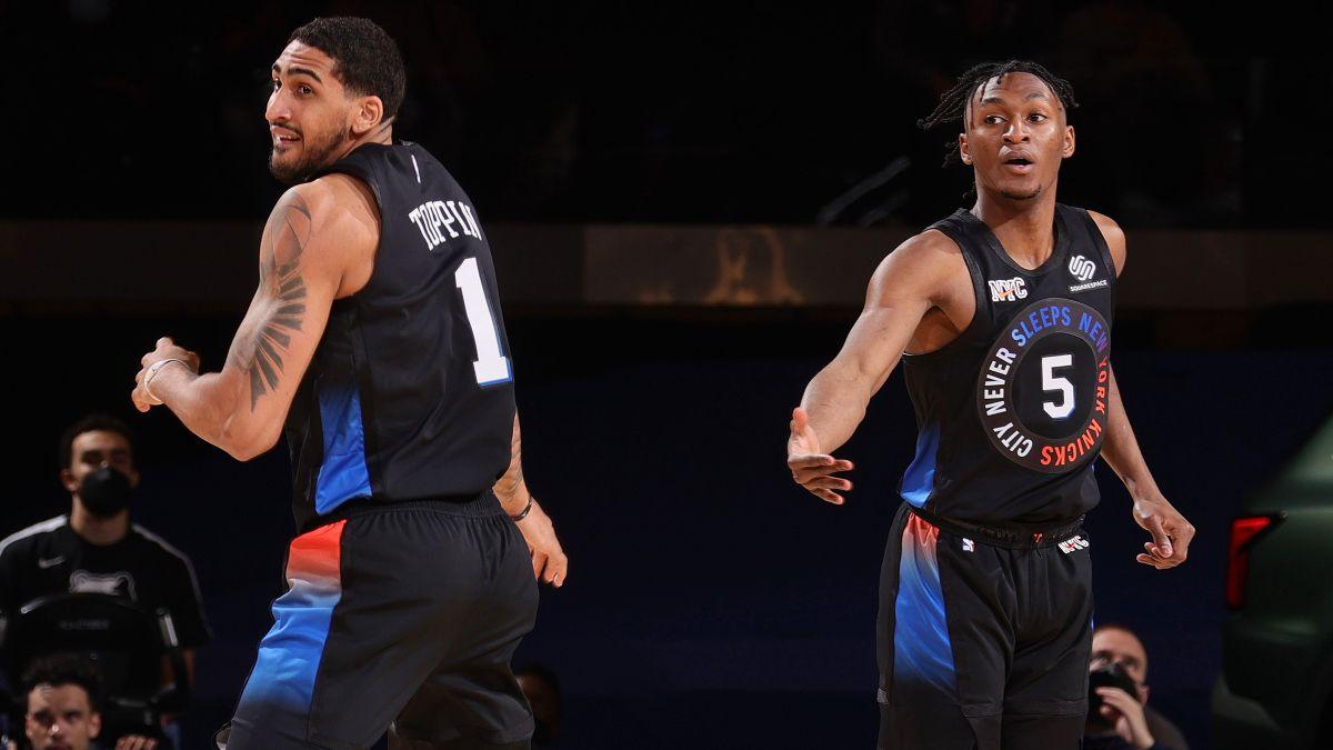 2021 NBA Summer League Odds: Knicks, Pistons Favorites to Win Las Vegas Tournament article feature image
