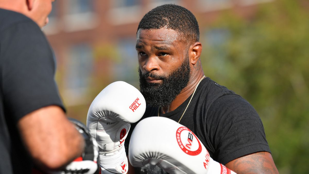 Tyron Woodley's Transition from MMA to Boxing Won't Be Easy article feature image
