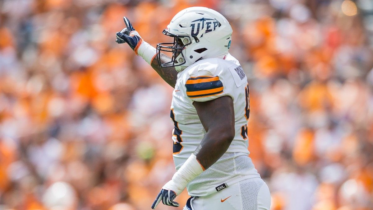 College Football Betting Odds & Predictions: Collin Wilson's Favorite Picks for Week 0, Including UTEP vs. New Mexico State (Aug. 28) article feature image