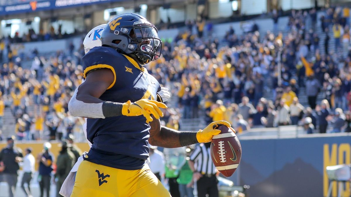 West Virginia vs. Maryland Odds, Promo: Bet $20, Win $200 if West Virginia Scores a Touchdown! article feature image