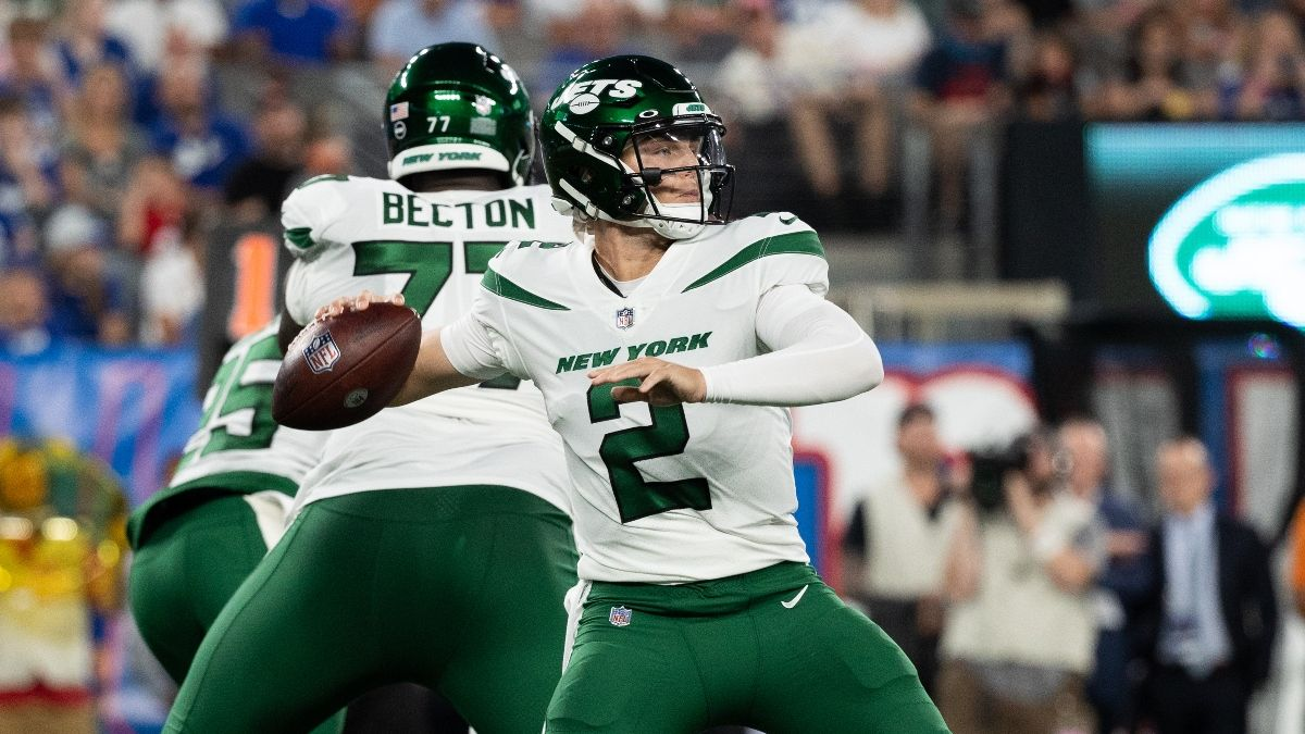 New York Jets Preseason Odds, Promo: Bet $20, Win $200 if the Jets Score a Point! article feature image