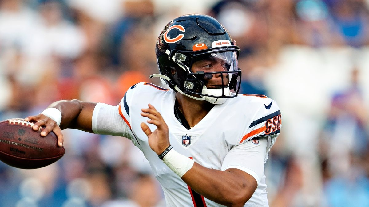 Bears vs. Browns Odds, Promo: Bet $20, Win $205 if Fields Completes a Pass! article feature image