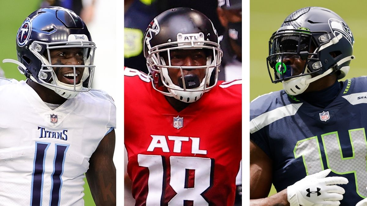 2021 Fantasy WR Rankings & Tiers: Your Round-By-Round Guide To Drafting Stud Wide Receivers, Breakouts, More article feature image