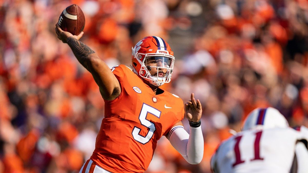 College Football Betting Odds for Georgia Tech vs. Clemson: Why a First-Half Bet is Your Best Option article feature image
