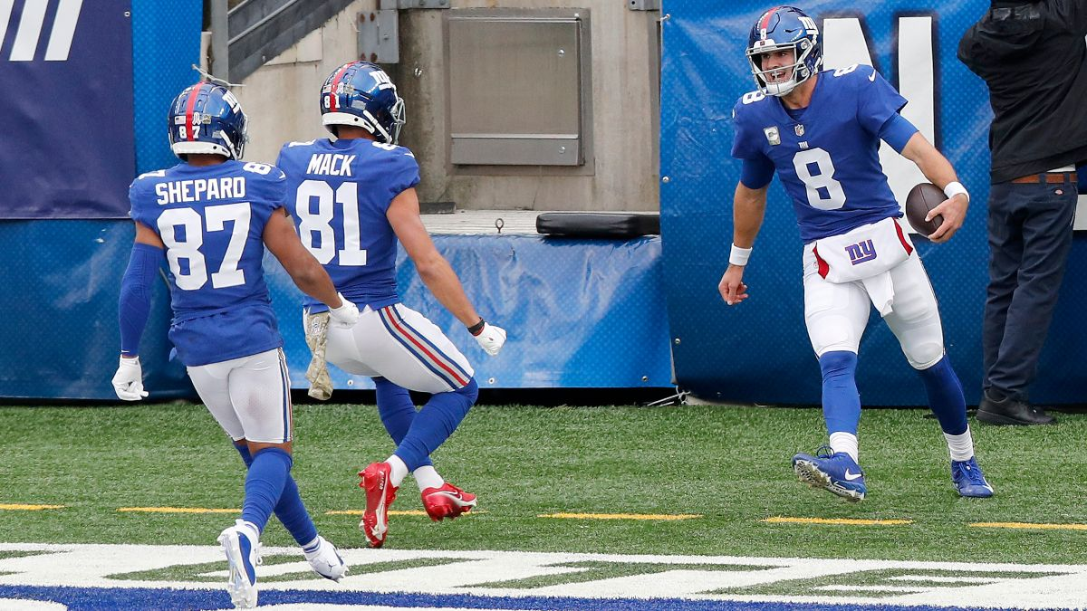 Giants vs. Falcons Odds, Promo: Bet $10, Win $200 if the Giants Score a TD! article feature image