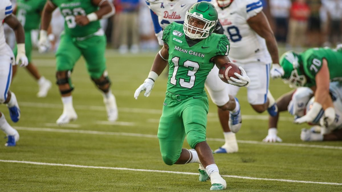 North Texas vs. SMU Odds, Pick, Prediction: Why to Bet on Mean Green in Week 2 (Sept. 11) article feature image
