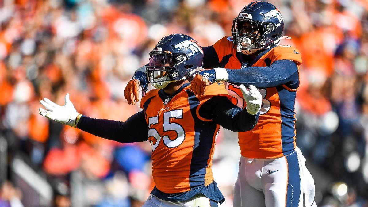 Broncos vs. Giants Odds, NFL Week 1 Preview, Prediction, Pick: Back Denver's Defense To Devour Giants O-Line article feature image