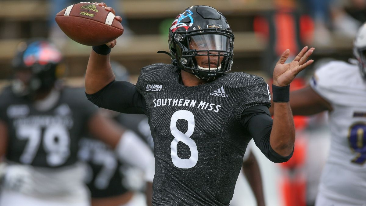 College Football Week 1 Odds & Pick for Southern Miss vs. South Alabama: The Golden Eagles Have Slight Edge Over Jaguars (Sept. 4) article feature image