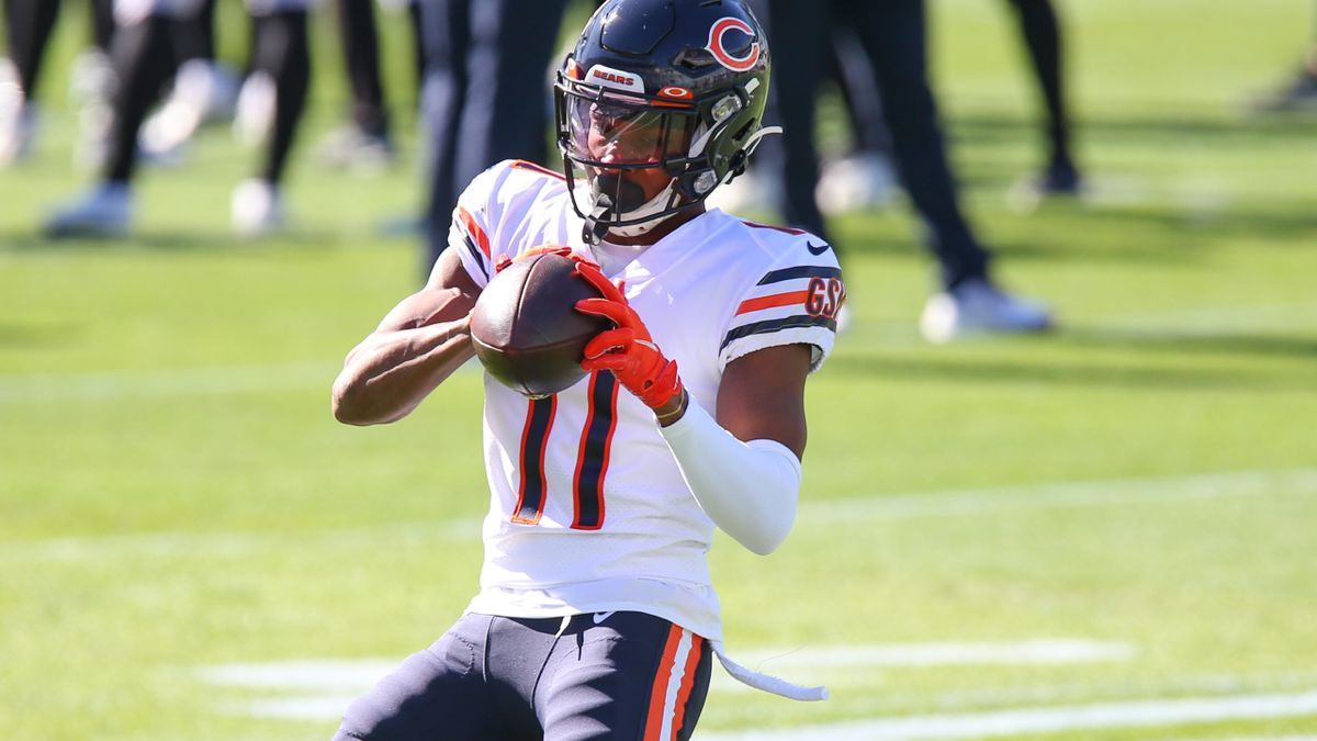 Darnell Mooney Injury News: Fantasy Rankings for Bears WR on Sunday Night Football vs. Rams article feature image