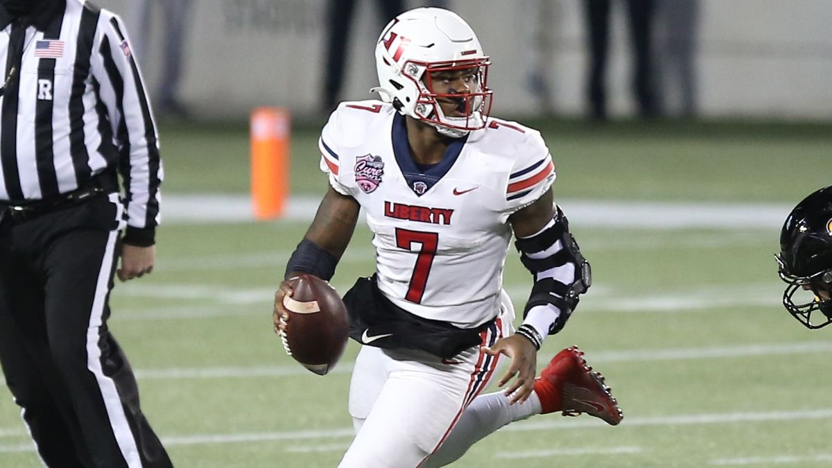 Campbell vs. Liberty College Football Odds & Picks: Malik Willis' Flames Set to Roll in Week 1 (Sept. 4) article feature image