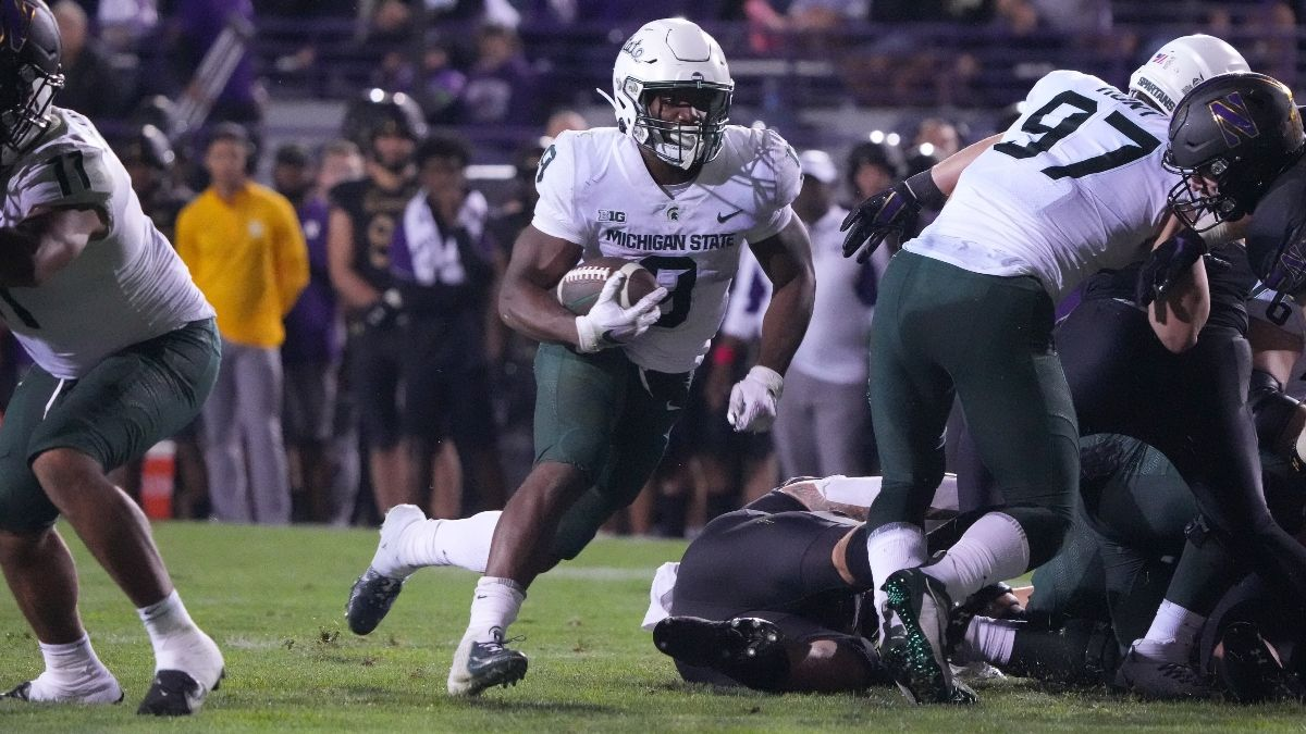 Youngstown State vs. Michigan State Odds & Pick: Bet the Big Ten Spartans to Roll in Saturday's College Football Matchup article feature image