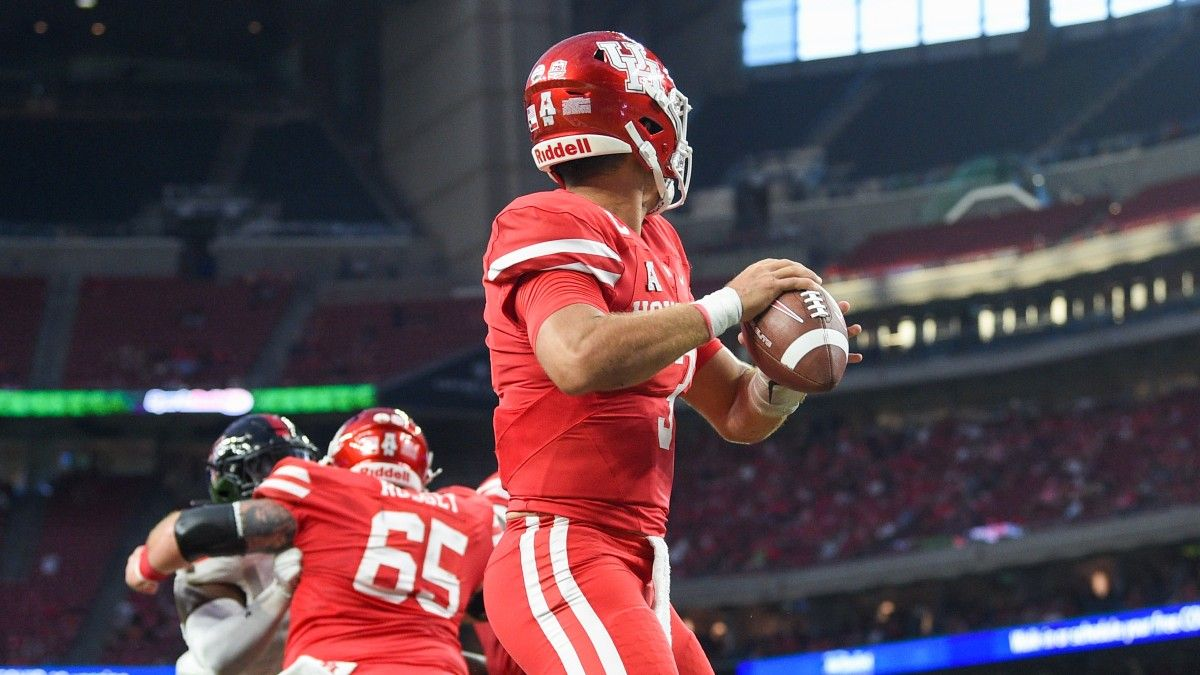 College Football Odds & Picks for Houston vs. Rice: Why to Bet the Under in This Week 2 Battle (Sept. 11) article feature image