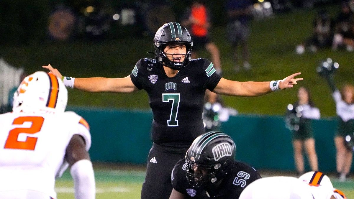 Week 3 Ohio-Louisiana Action Report: Bettors Expecting Bobcats To Put Up Points article feature image