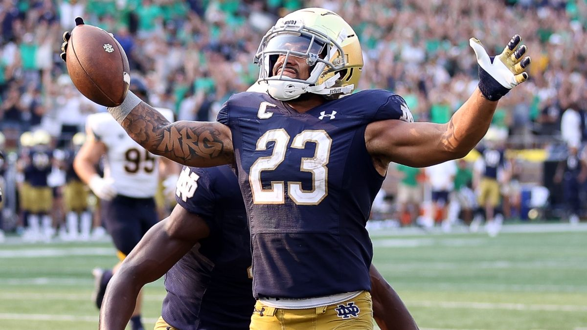 College Football Betting Odds & Pick for Purdue vs. Notre Dame: Fade the Fighting Irish in Week 3 (Sept. 18) article feature image