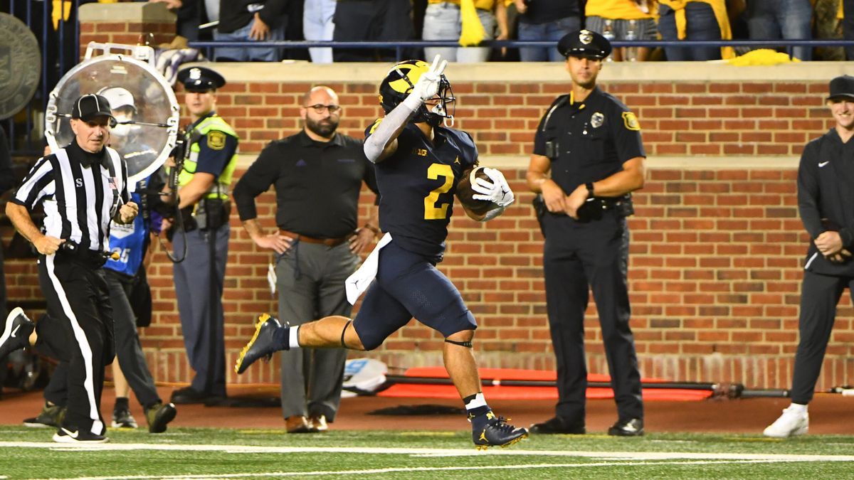 CFB Weather Forecast: Wind Impacting Michigan vs. Rutgers odds, 3 other Week 4 games article feature image