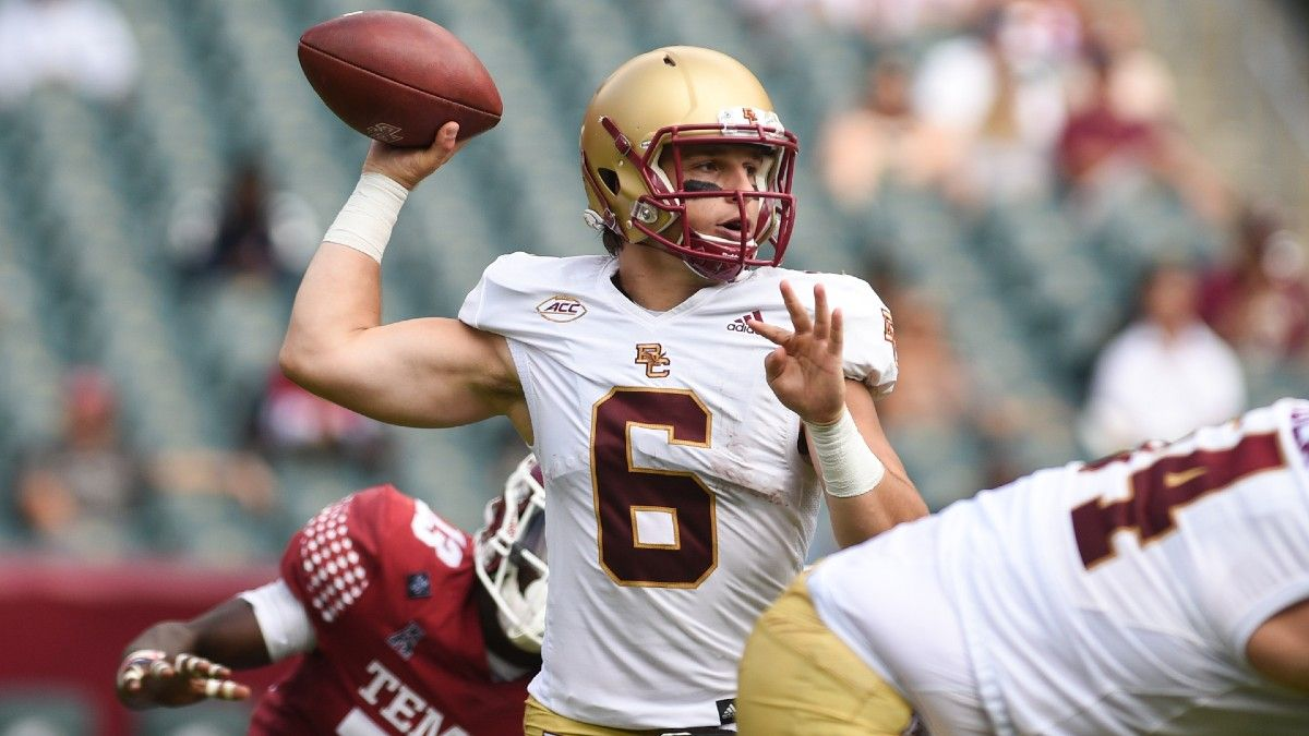 College Football Odds & Picks for Missouri vs. Boston College: Why You Should Back The Eagles article feature image