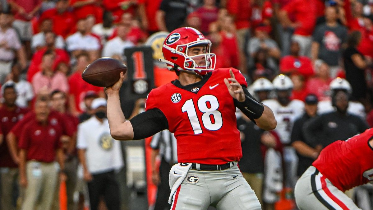College Football Player Props: Our Top Bets for Week 4, Including JT Daniels & Will Rogers (September 25) article feature image