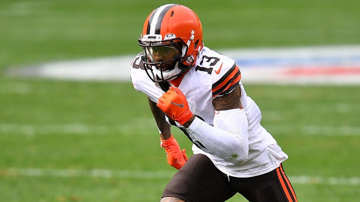 Odell Beckham Jr. Injury Update: Fantasy Analysis With Browns WR Out For Week 1 article feature image