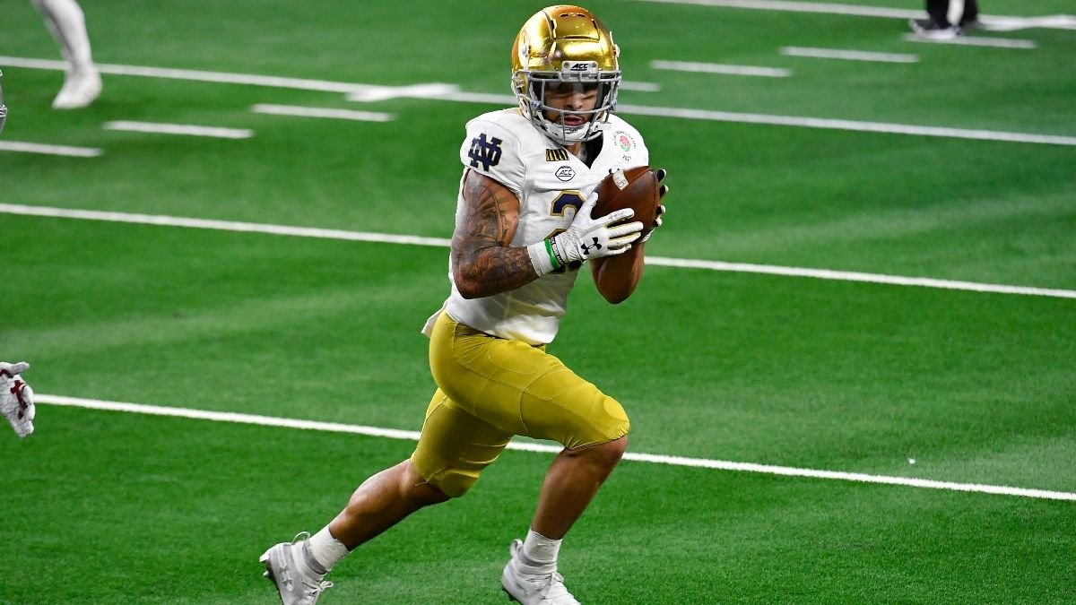 Notre Dame vs. Purdue Odds, Promo: Bet $1+, Get $400 FREE! article feature image
