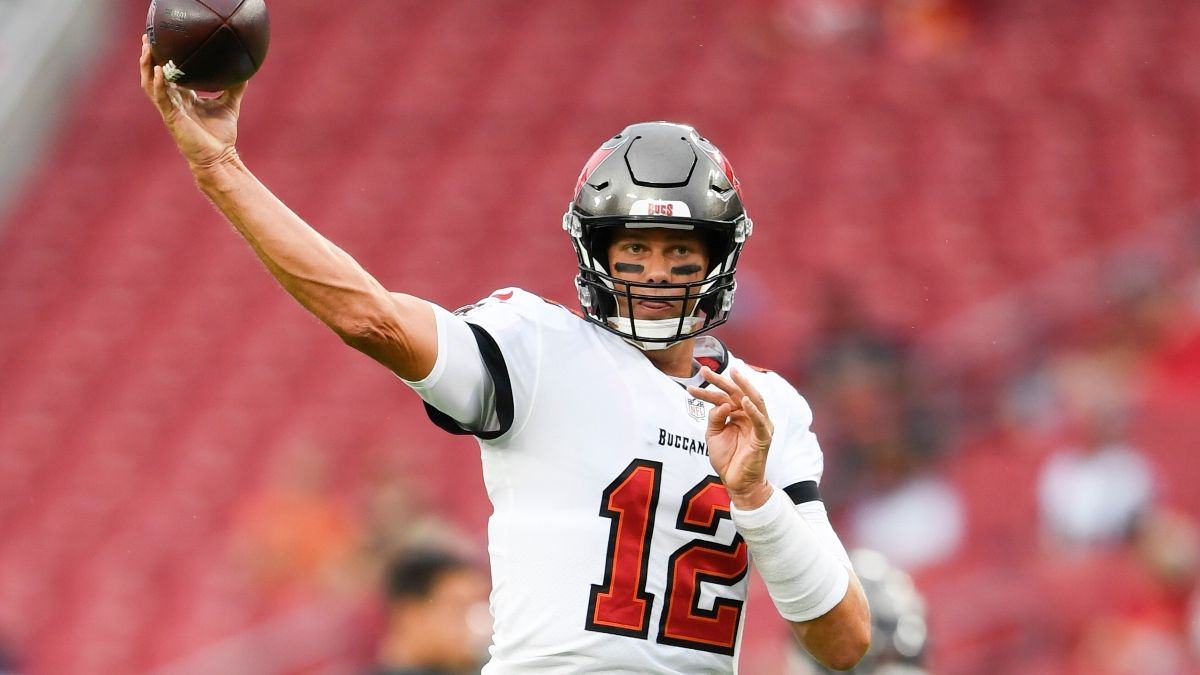 Buccaneers vs. Eagles Odds, Promo: Bet $1, Win $100 if Either Team Scores a TD! article feature image