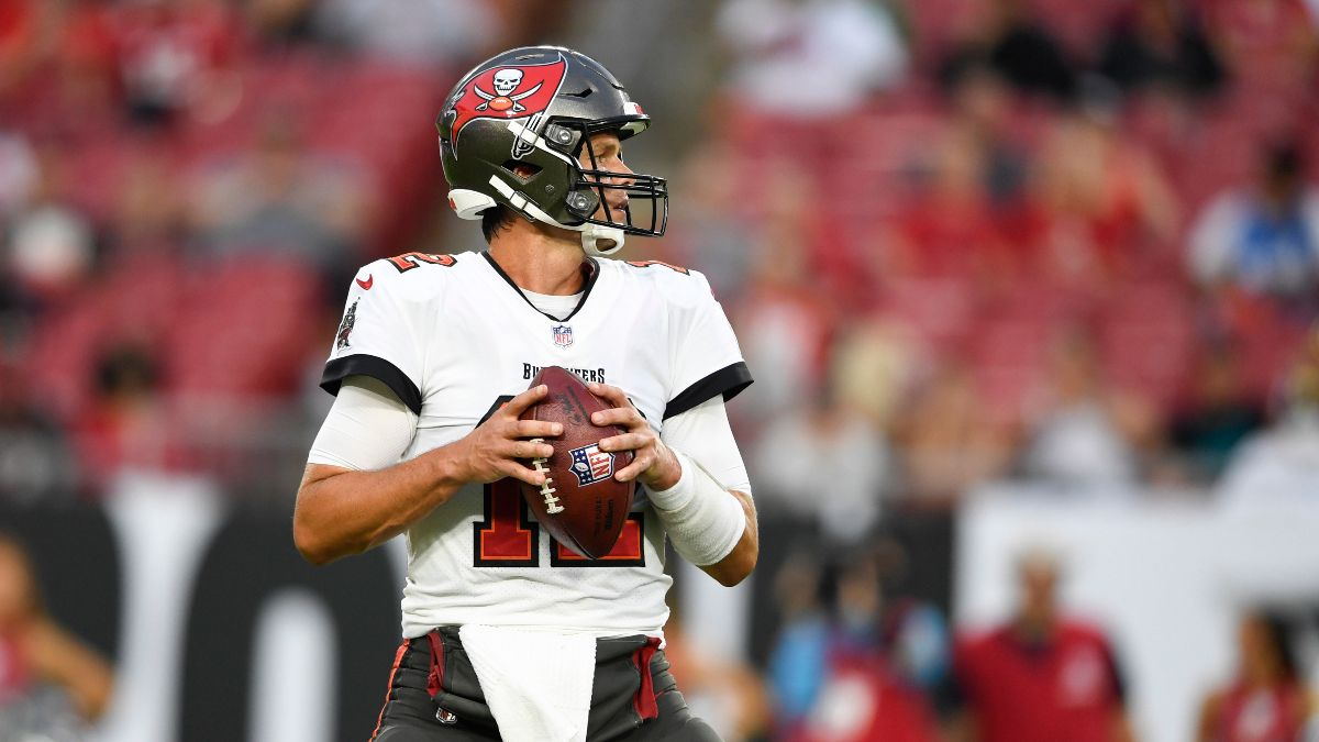 Buccaneers vs. Rams Odds, Promo: Bet $10, Win $200 the Bucs or Rams Score a TD! article feature image