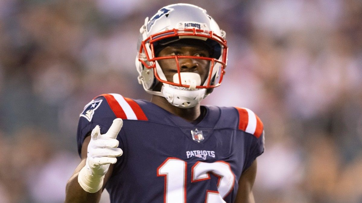 Nelson Agholor Fantasy Advice: Where Patriots Receiver Ranks With Possible Injury article feature image
