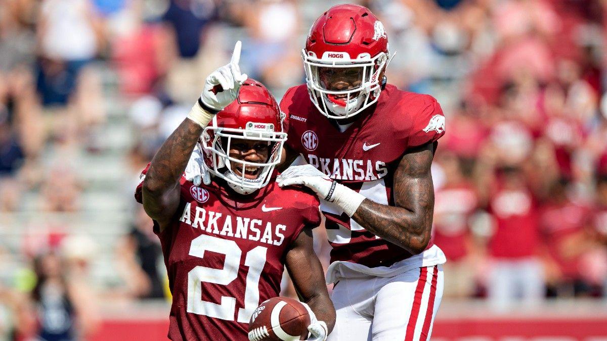 Georgia Southern vs. Arkansas Betting Odds & Pick: Value on Razorbacks as Heavy Favorites (September 18) article feature image