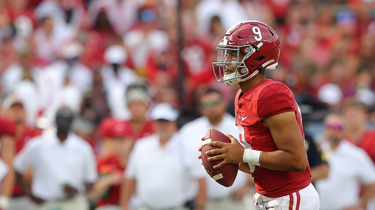2021 Heisman Trophy Odds & Power Rankings: New Faces Enter Picture, But Bryce Young Stays No. 1 article feature image