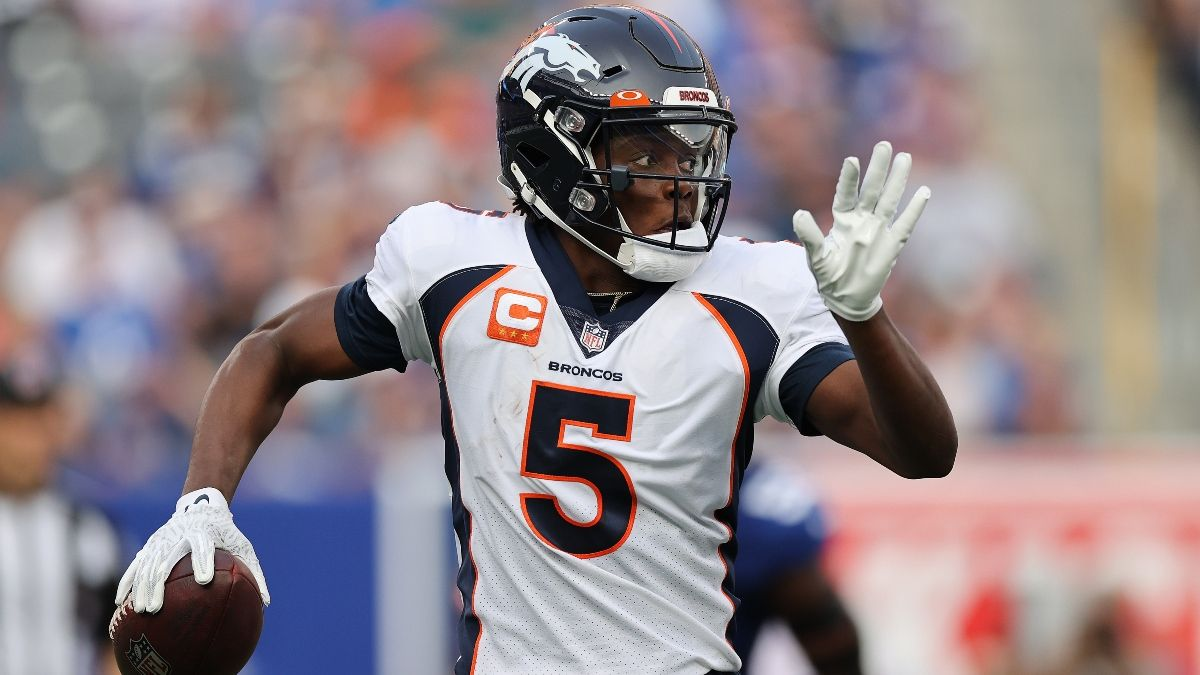 Broncos vs. Jaguars Odds & NFL Predictions For Week 2: How We're Betting This Spread article feature image