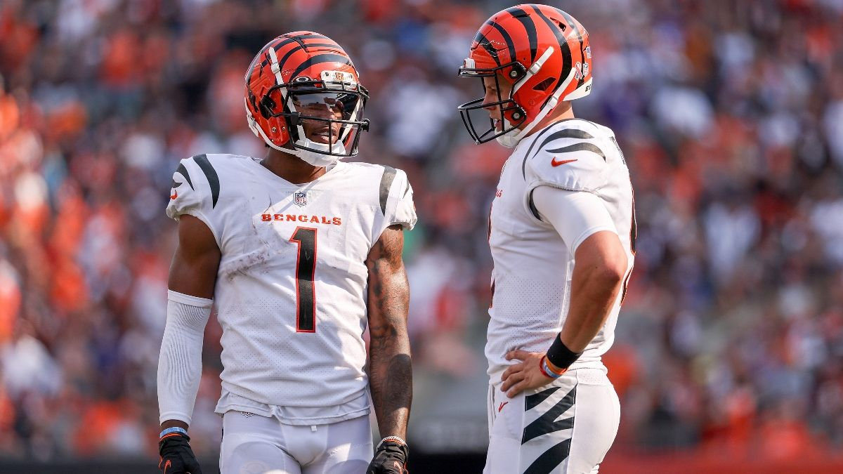 Bengals vs. Jaguars Odds, Promo: Bet $1, Win $100 if Either Team Scores a TD! article feature image